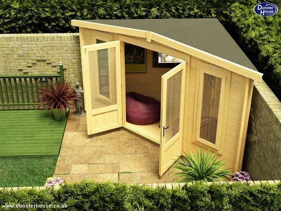 small shed is your #garden too small for a log cabin? think again! the UHKFLJZ