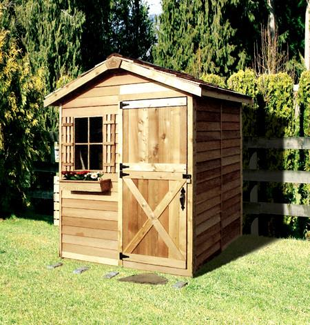 small sheds ... cedarshed small shed kit ... COZBOYI
