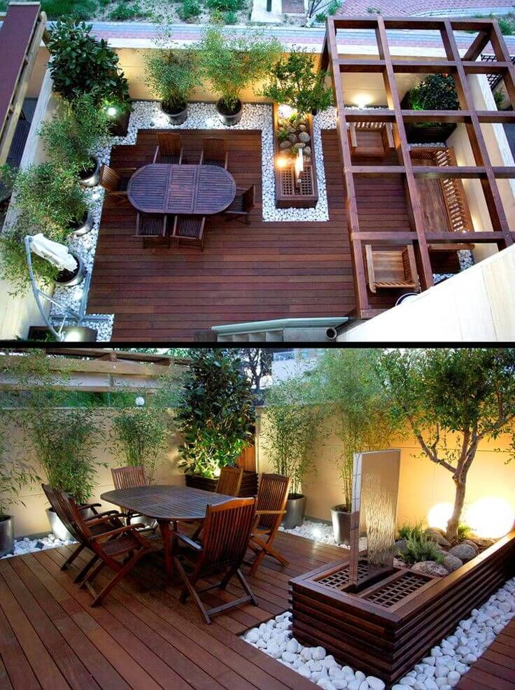 small yard ideas 41 backyard design ideas for small yards | page 5 of 41 XVEWTSR