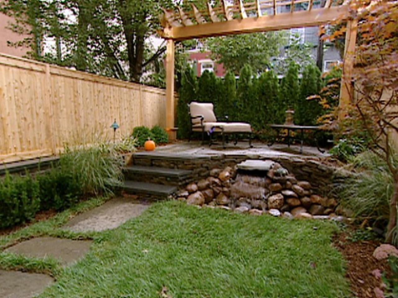 small yard ideas after: breathing room BZVJPUX