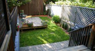 small yard ideas before: long and narrow FJUSYBW