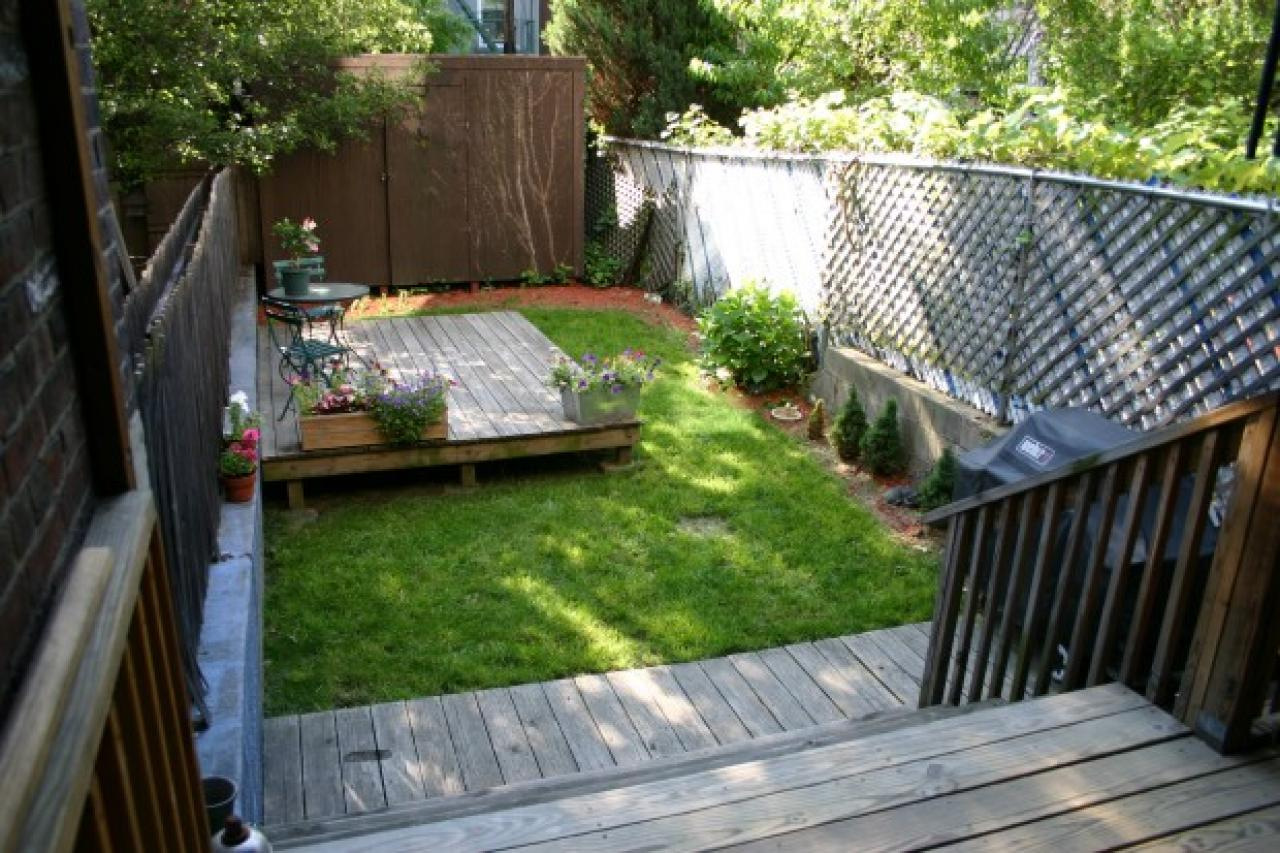 Sources of small yard ideas