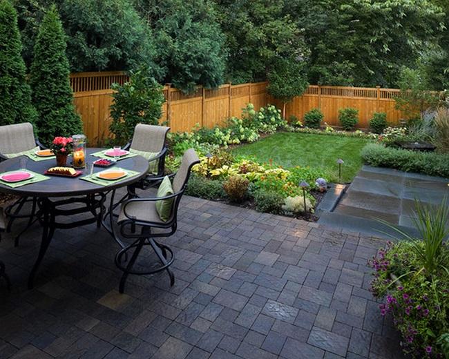 small yard ideas small backyard ideas ROPFKPM