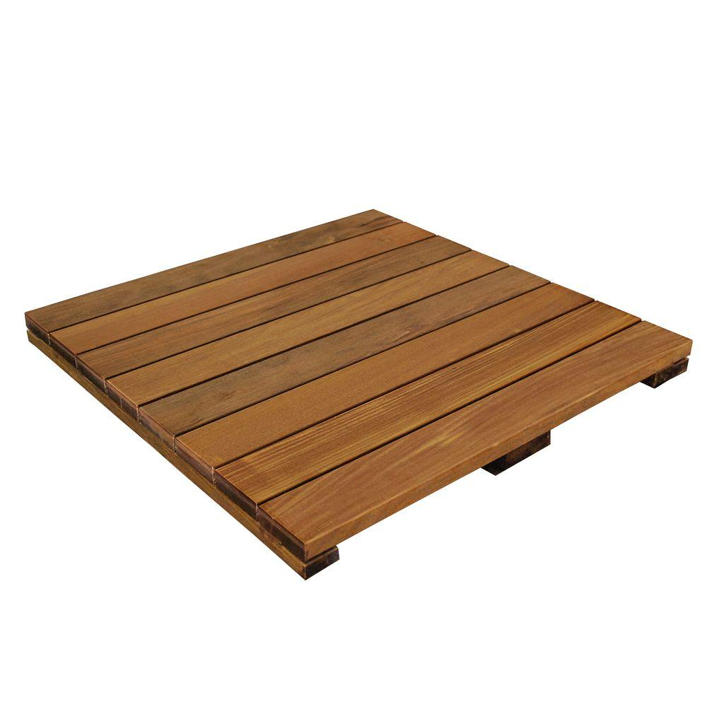 solid hardwood deck tile in exotic ipe DUPXFSD