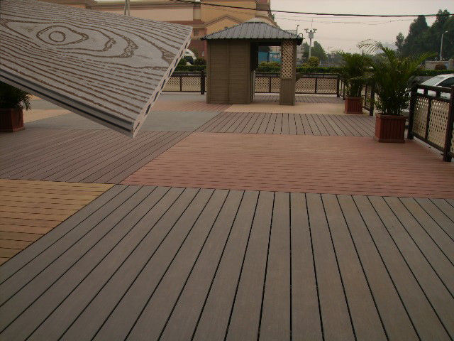 solid wood plastic decking eco friendly uv proof wpc composite decking ZEHADBX