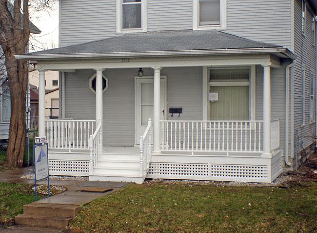 st paul front porch designs HIWNRXK