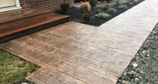 stamped concrete credit: mountaineer concrete and excavation KCOQZEC