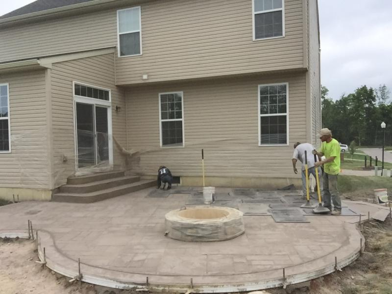 stamped concrete patio ideas SOHDICU
