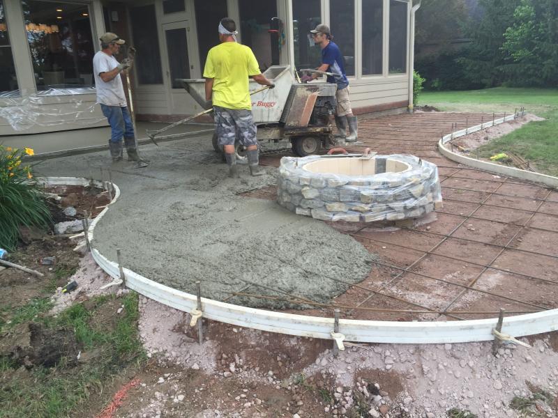 stamped concrete patio mason ohio TTVKGIB