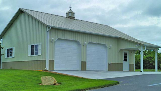 steel garages ga#4 1104622 26x36x10 WPLSFUX