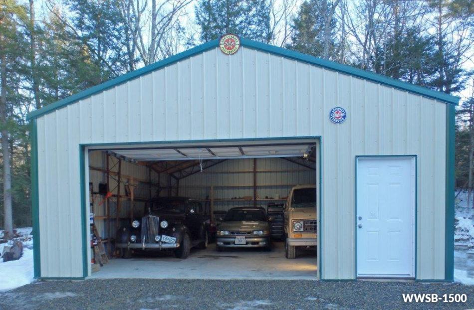 steel garages steel building for vehicle storage. steel