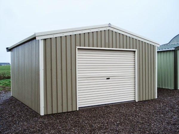 Suitability of steel sheds