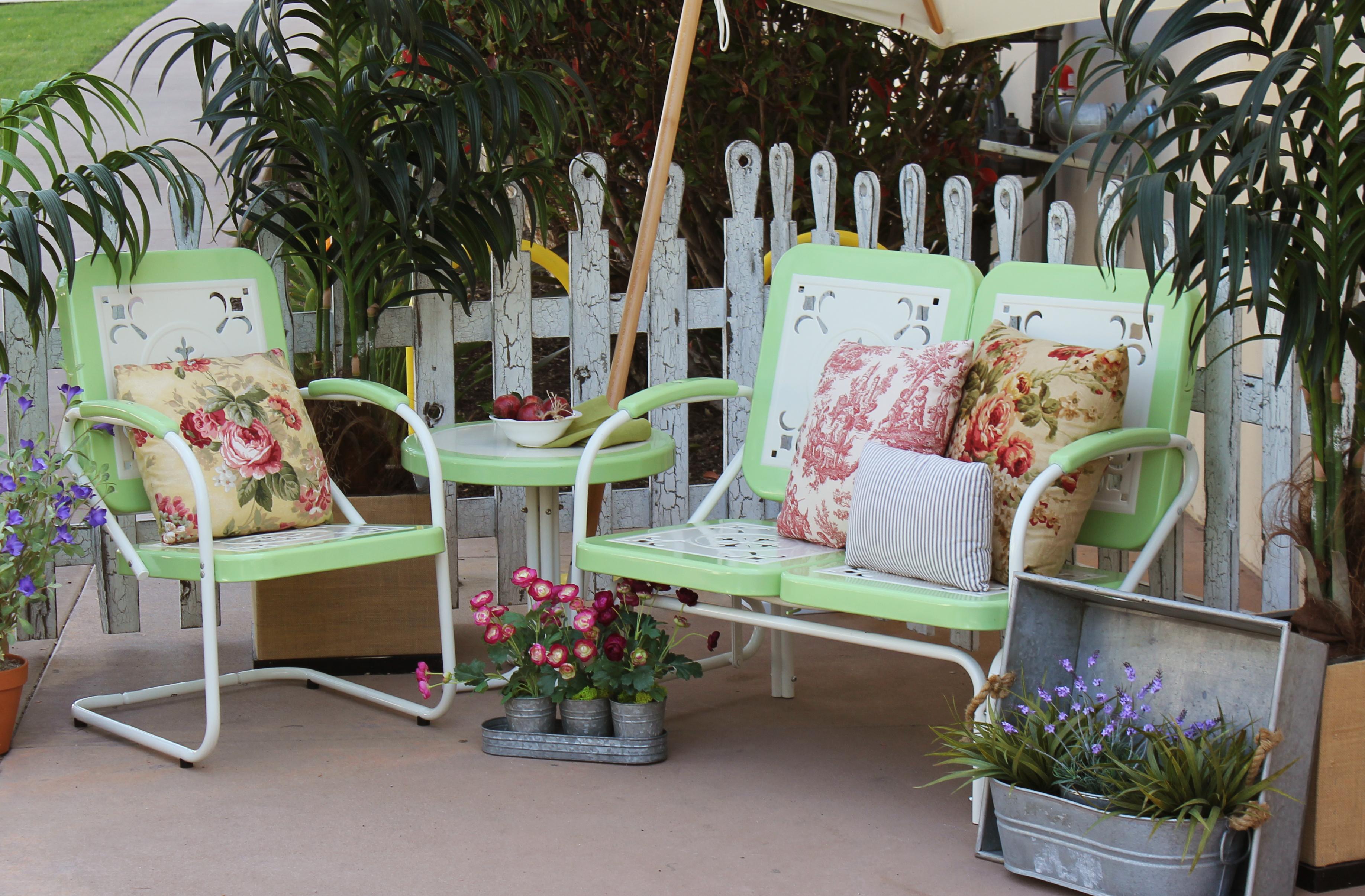 summerland vintage patio furniture-mint FQUPDJE