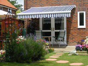 sun canopy image is loading 5m-full-cassette-manual-garden-patio-awning-sun- KOWUBXR