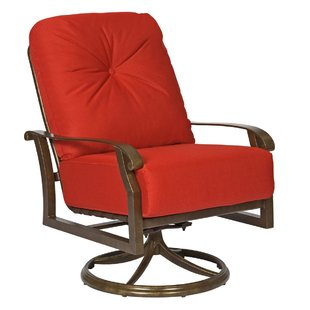 swivel patio chairs cortland swivel rocking patio chair with cushions BUXLVIB