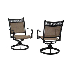 swivel patio chairs display product reviews for potters glen patio dining chair WQQWPDU