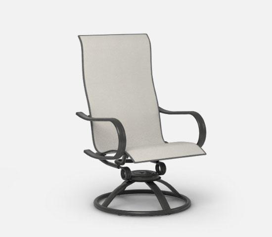 swivel patio chairs high back swivel rocker ASWPELQ