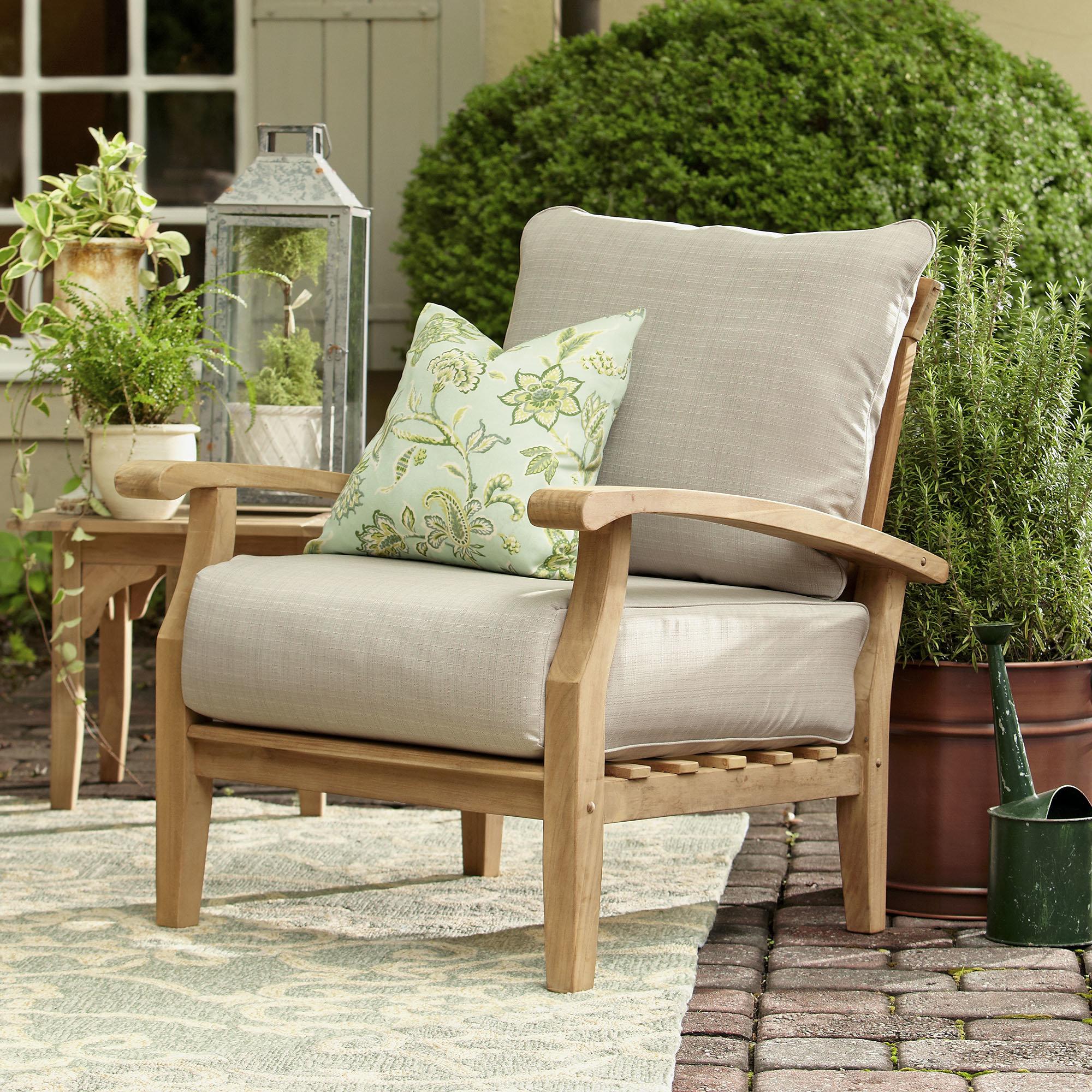 teak patio furniture birch lane™ summerton teak patio chair u0026 reviews | birch lane XDALCTT