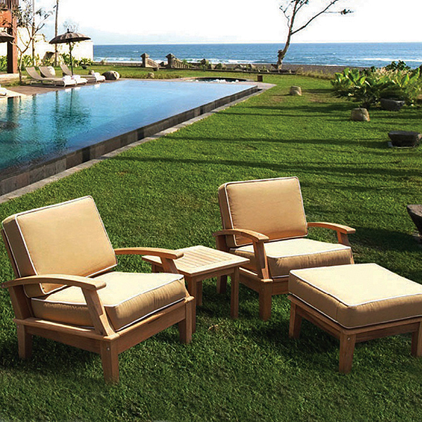 teak patio furniture requires little attention, care u0026 maintenance XYOQITB