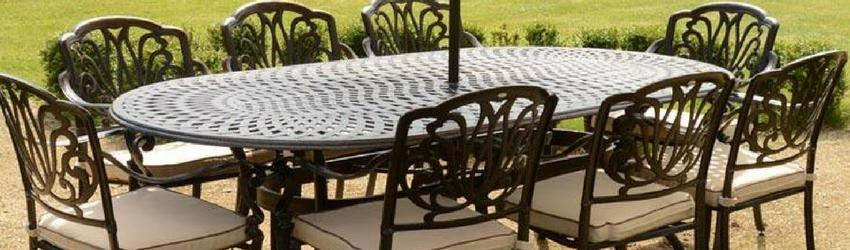 the benefits of cast aluminium garden furniture JYRCWSO