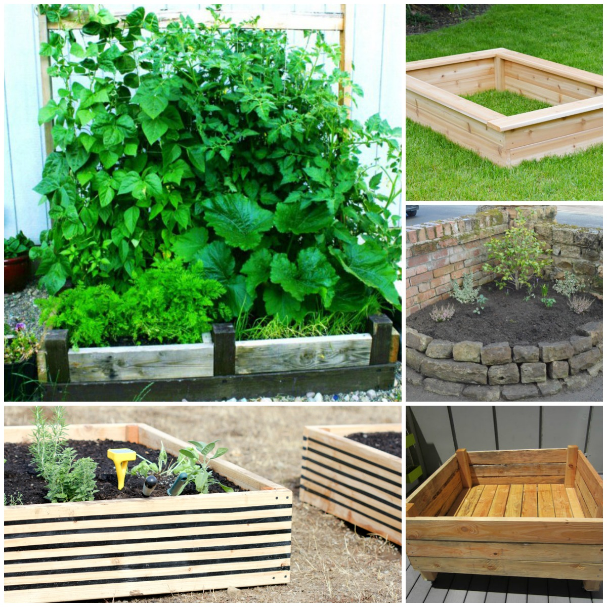 these raised garden bed ideas are so easy and clever, i want DDWWHHB