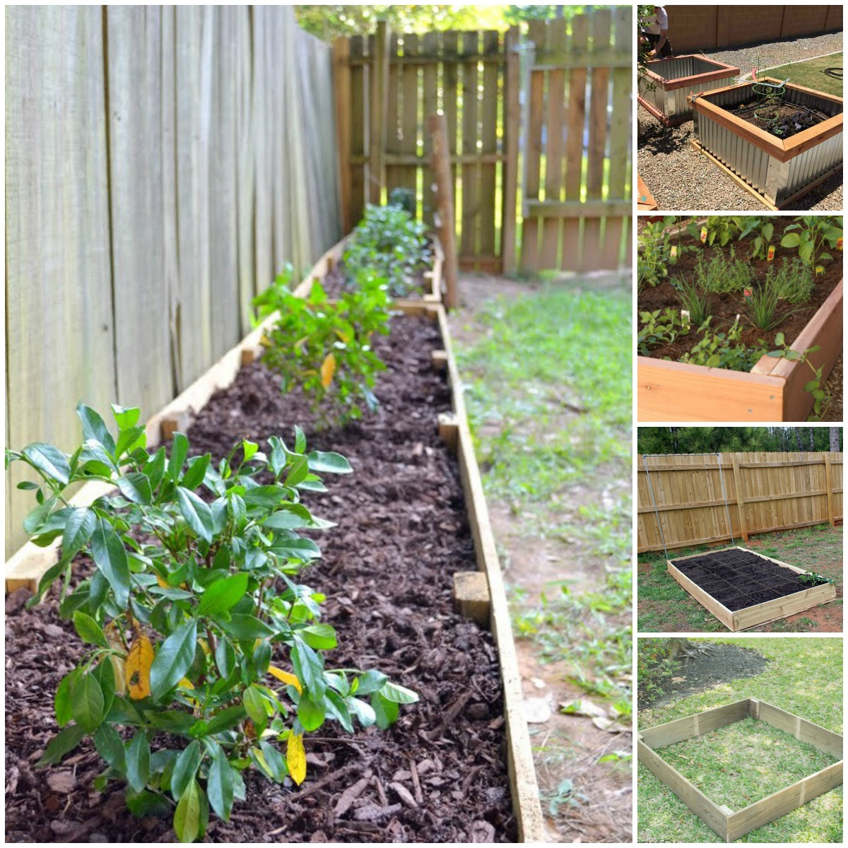 these raised garden bed ideas are so easy and clever, i want QTHWQSI