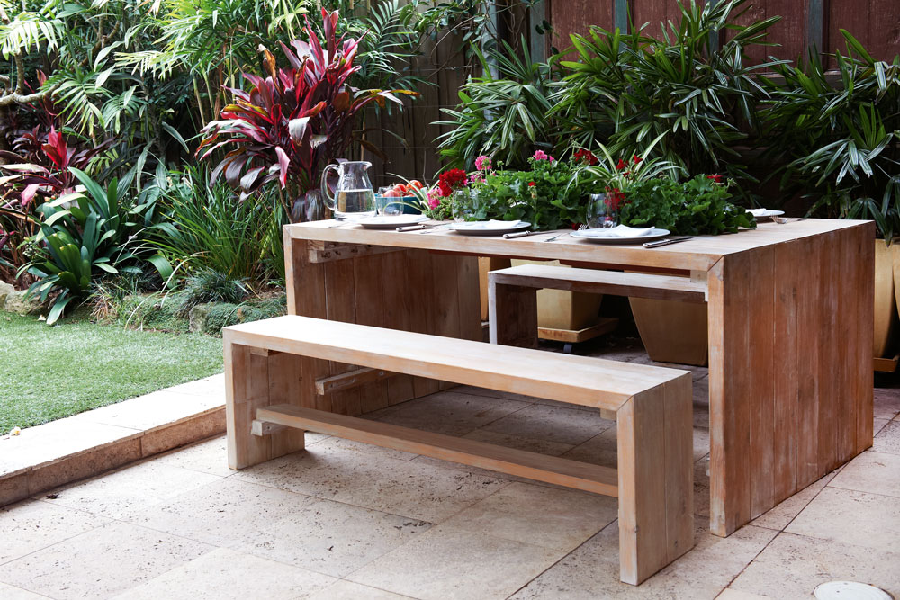 timber outdoor furniture build a timber outdoor table UJGBVDR