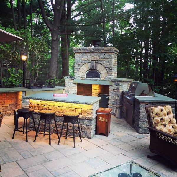 top 50 best backyard outdoor bar ideas cool watering holes throughout outdoor LUEQYWI