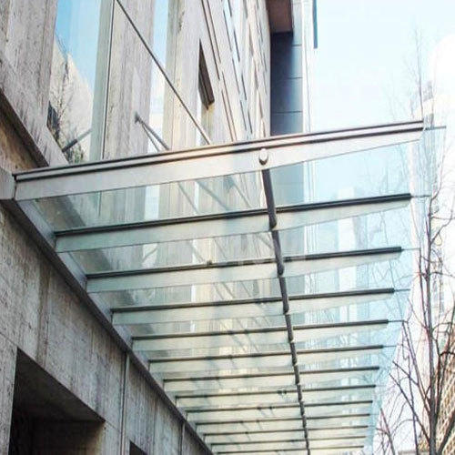 toughened glass canopy LZIZOOH