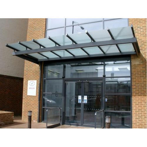 transparent glass canopy GCYIYEB