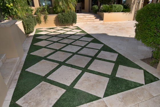 travertine outdoor pavers RVFUJHO