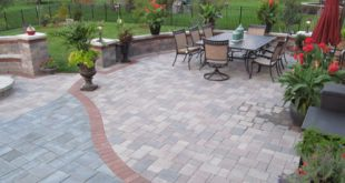 trust a reliable paving company your new brick patio in chicago VVZPCPE