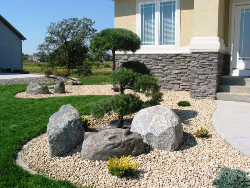 unique decorative landscaping rocks ideas KLMJDPS