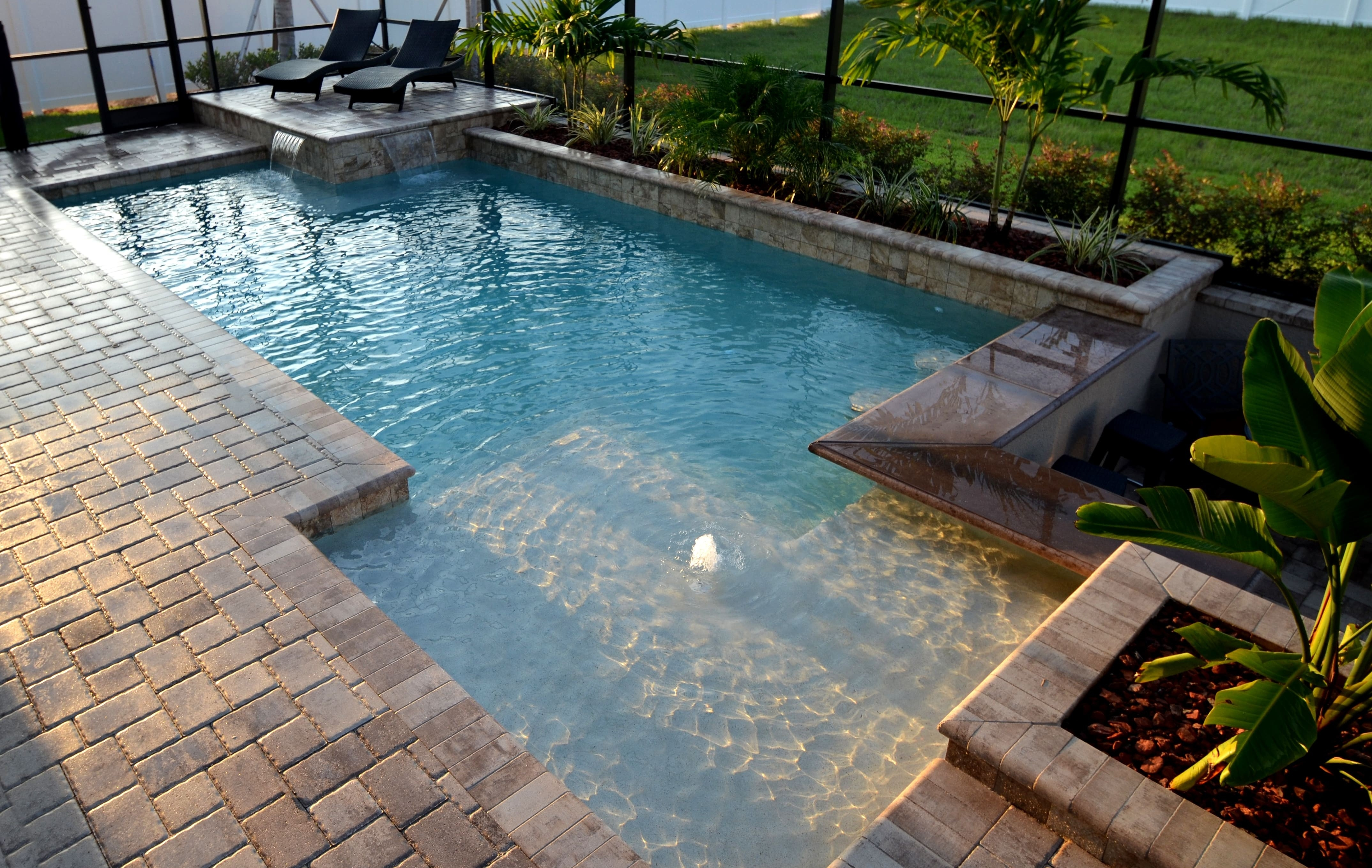unique geometric swimming pool designs ideas | swimming pool ideas 2018 in YDCRDMK