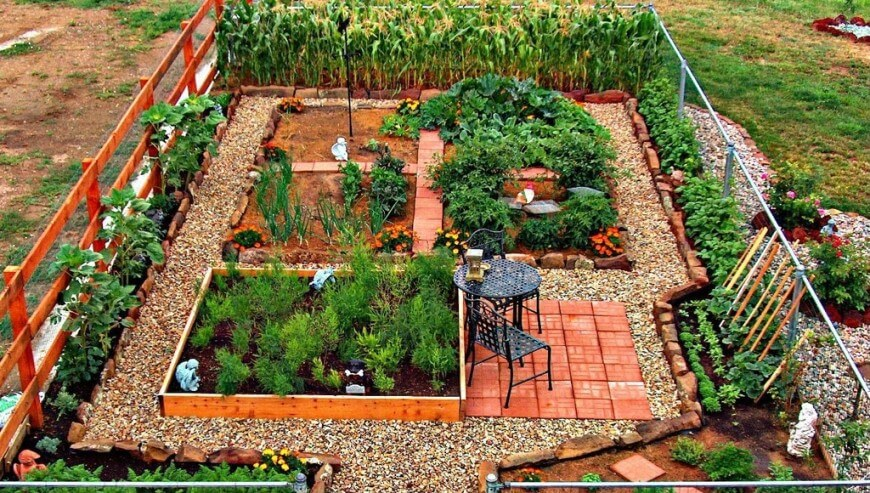 vegetable garden design 24 fantastic vegetable garden ideas ITZLGKD