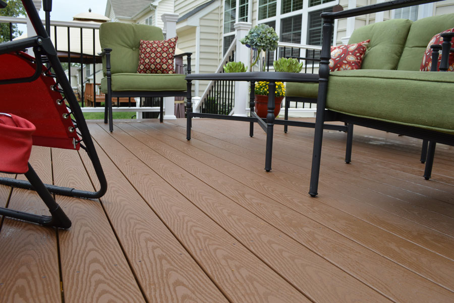 veranda decking brown UEFDUCN