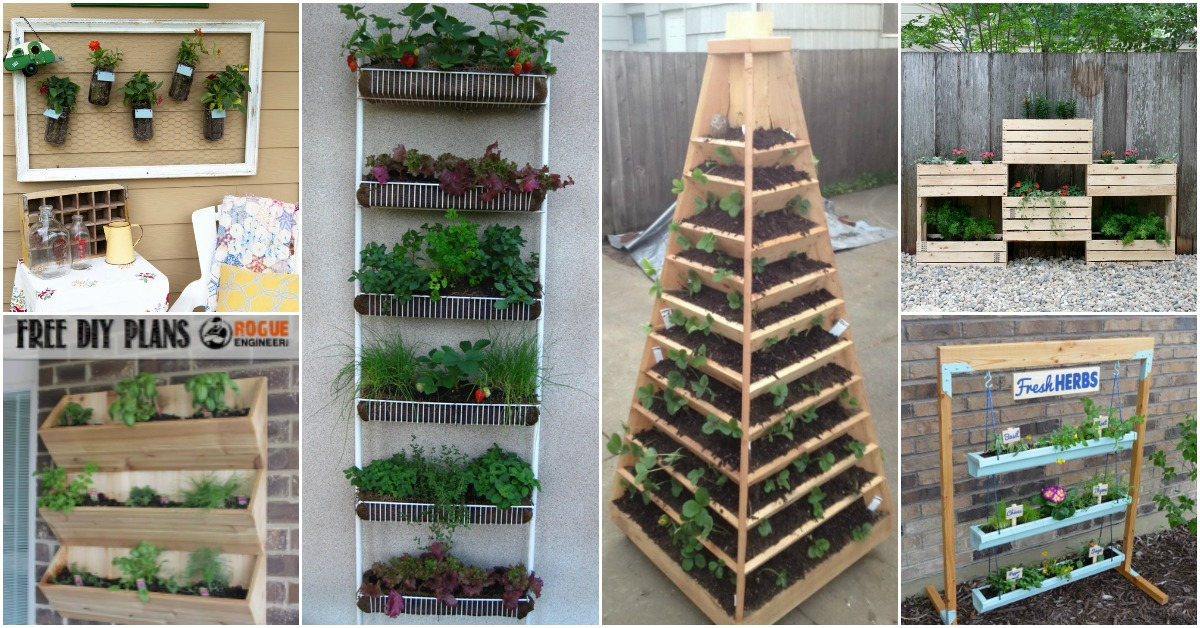 vertical garden ideas 20 diy vertical gardens that give you joy in small spaces - WDFCCNR