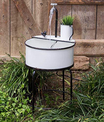 vintage garden sink fountain ctw FMKTVMP
