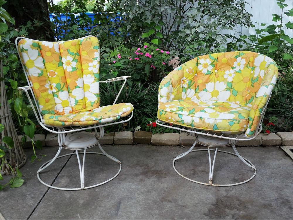 vintage patio furniture vintage patio chairs composite ... YYFJDYJ