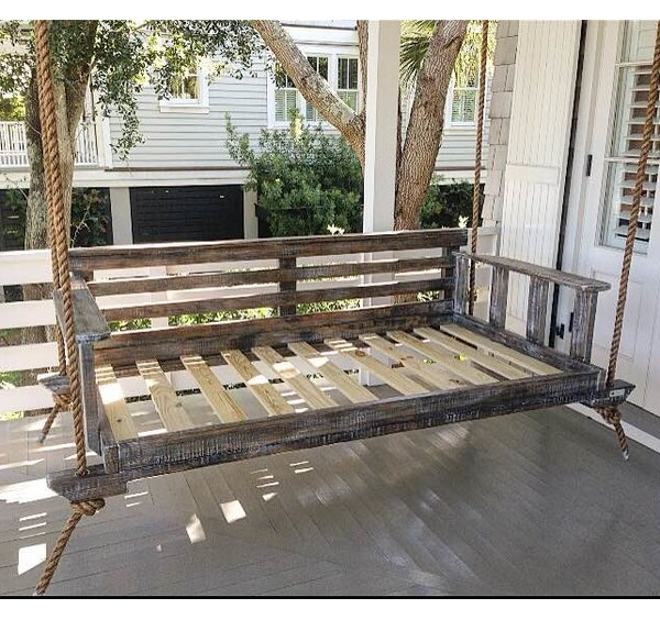vintage porch swings noah porch swing | wayfair PJNLCXI