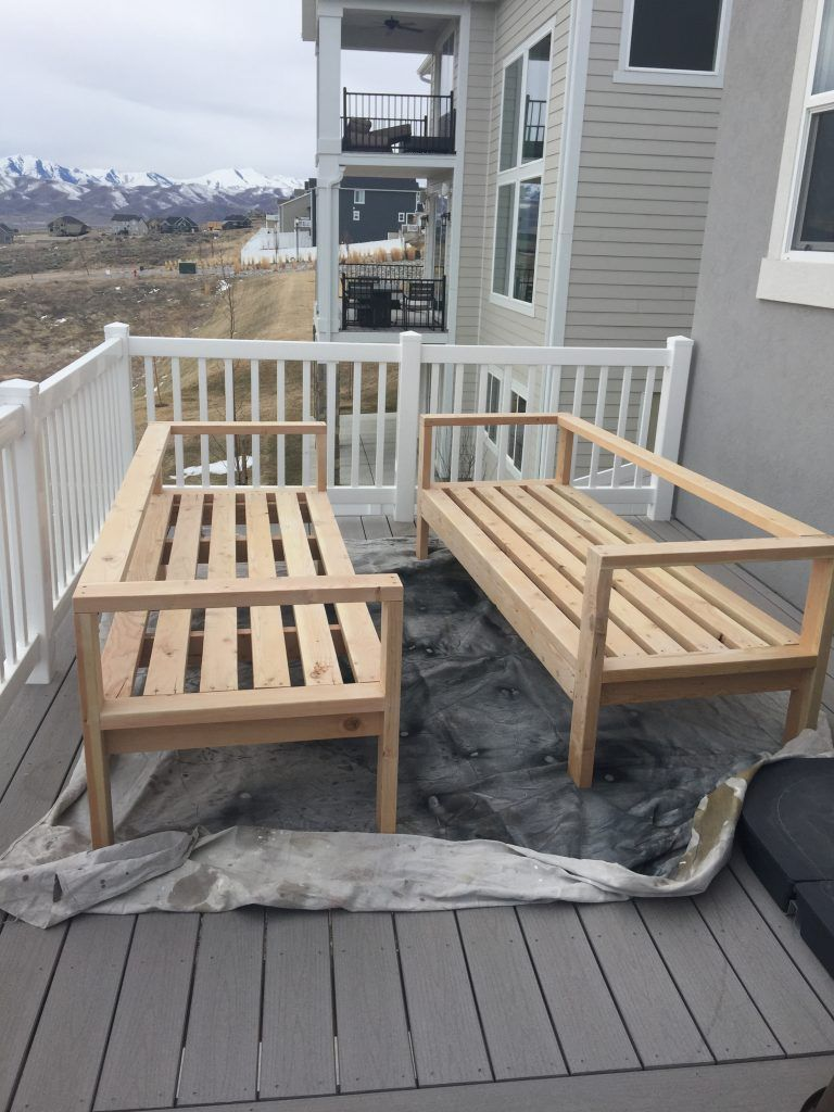 want to hang out or entertain outside? build this diy outdoor furniture DNPAPHR