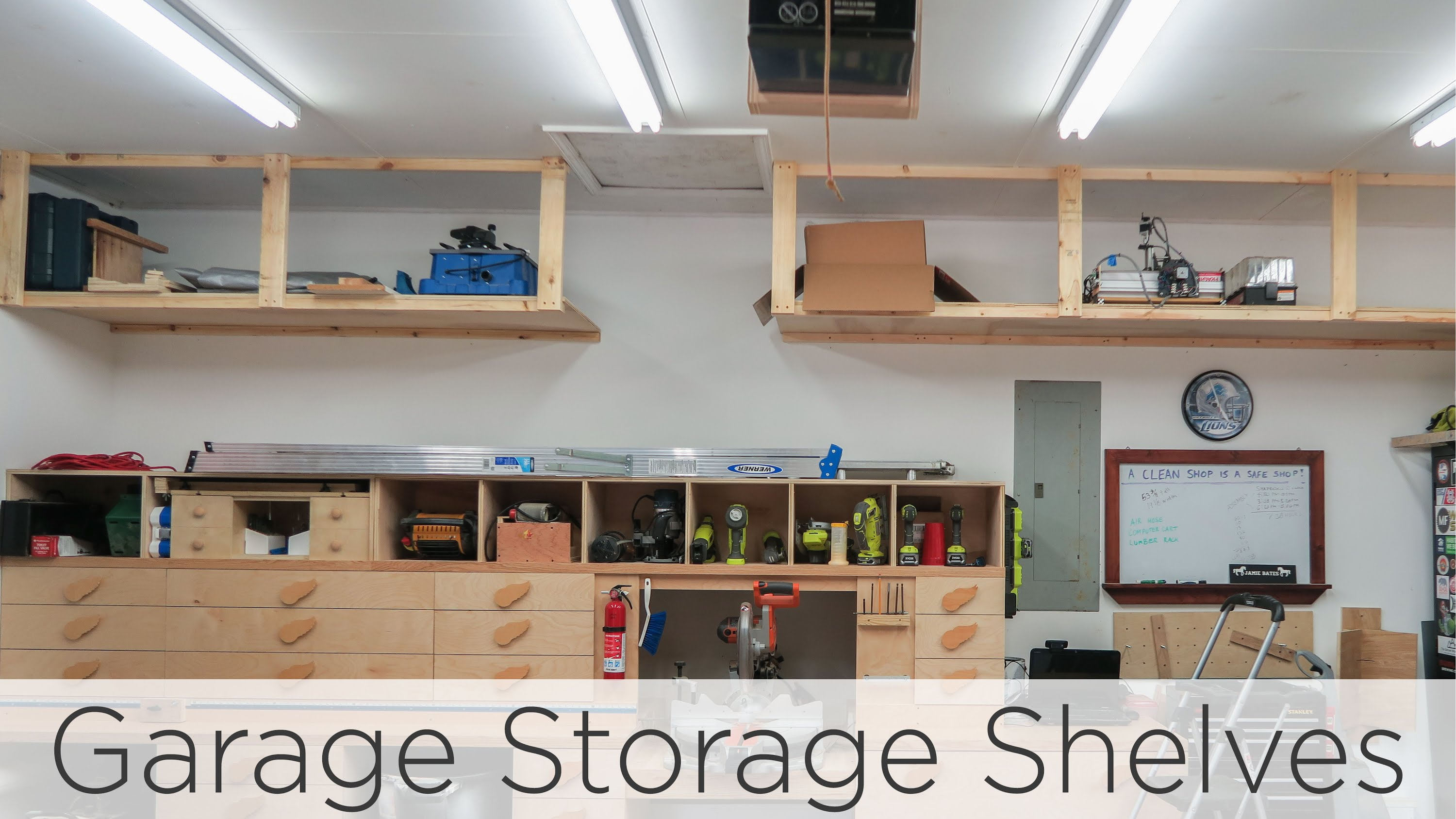 wasted space garage storage shelves - 202 -