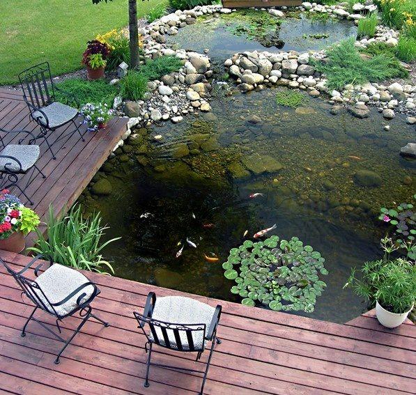 water pond ideas | 53 cool backyard pond design ideas | digsdigs CNNLLAO