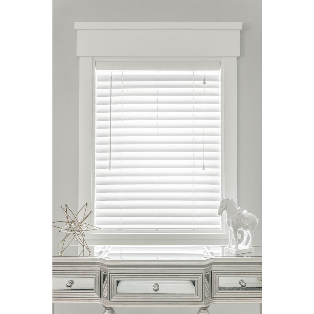 white blinds l faux-wood white automated 2 TUJSOCX