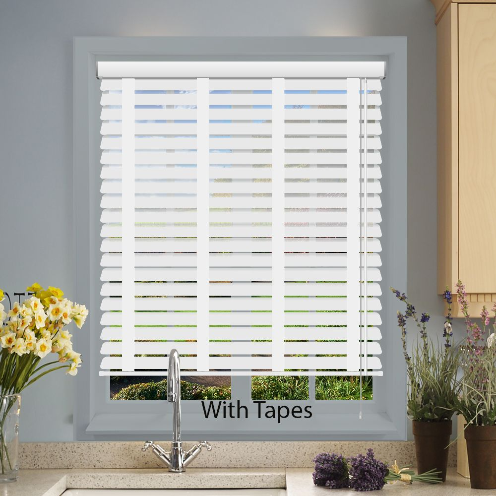 white venetian blinds impressions faux wood venetian blinds in white embossed - just blinds QFDOYLP