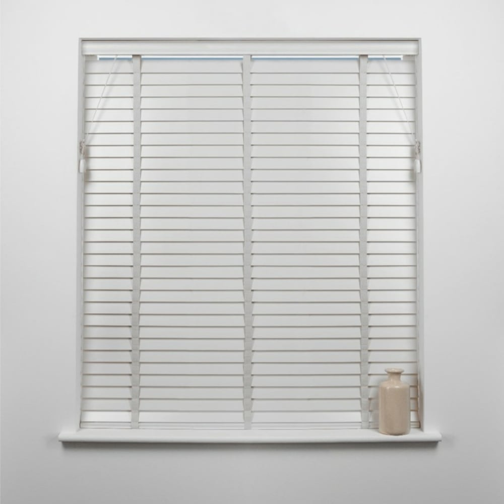 white venetian blinds white 50mm wood venetian blind MJOKPQG