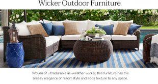 wicker furniture LQMOUTI
