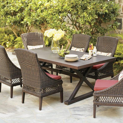 wicker patio set wicker patio furniture XUHQWUL