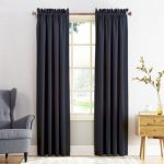 Let window drapes provide the room with aesthetic appeal