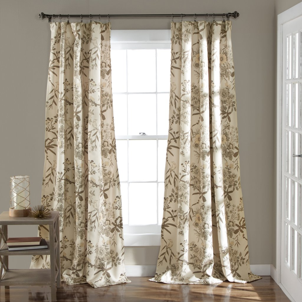 window panels botanical garden window curtain panel set LPYKSXC